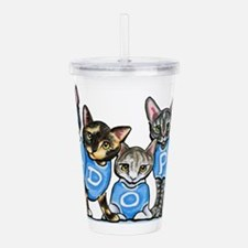 Adopt Shelter Cats Acrylic Double-wall Tumbler