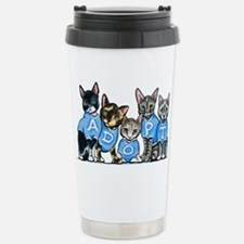 Adopt Shelter Cats Travel Mug