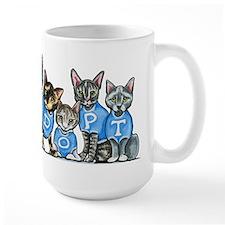 Adopt Shelter Cats Mugs
