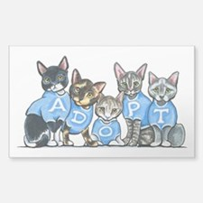 Adopt Shelter Cats Decal
