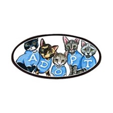 Adopt Shelter Cats Patches
