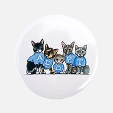 "Adopt Shelter Cats 3.5"" Button"