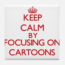Cartoons Tile Coaster