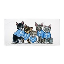 Adopt Shelter Cats Beach Towel