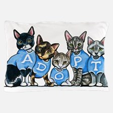 Adopt Shelter Cats Pillow Case