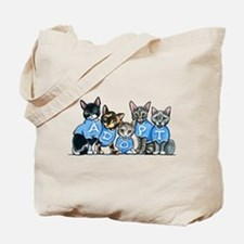 Adopt Shelter Cats Tote Bag