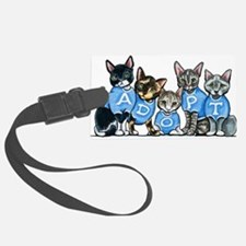 Adopt Shelter Cats Luggage Tag