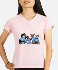 Adopt Shelter Cats Performance Dry T-Shirt