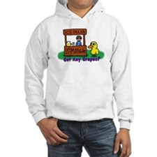 Cute The duck song Hoodie