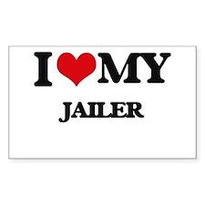 I love my Jailer Decal