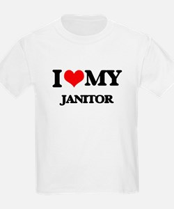 I love my Janitor T-Shirt