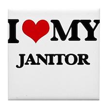 I love my Janitor Tile Coaster