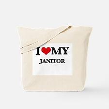 I love my Janitor Tote Bag