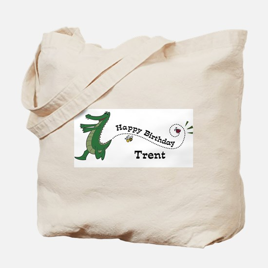 Happy Birthday Trent (gator) Tote Bag