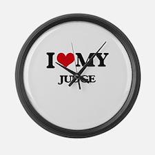 I love my Judge Large Wall Clock