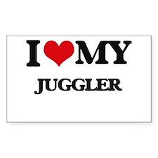 I love my Juggler Decal
