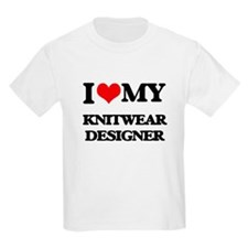 I love my Knitwear Designer T-Shirt