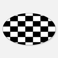 Checkered Pattern Decal