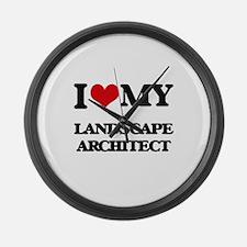 I love my Landscape Architect Large Wall Clock