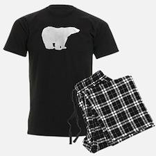 Polar Bear Silhouette Pajamas