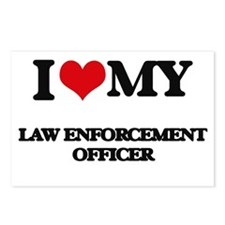 I love my Law Enforcement Postcards (Package of 8)