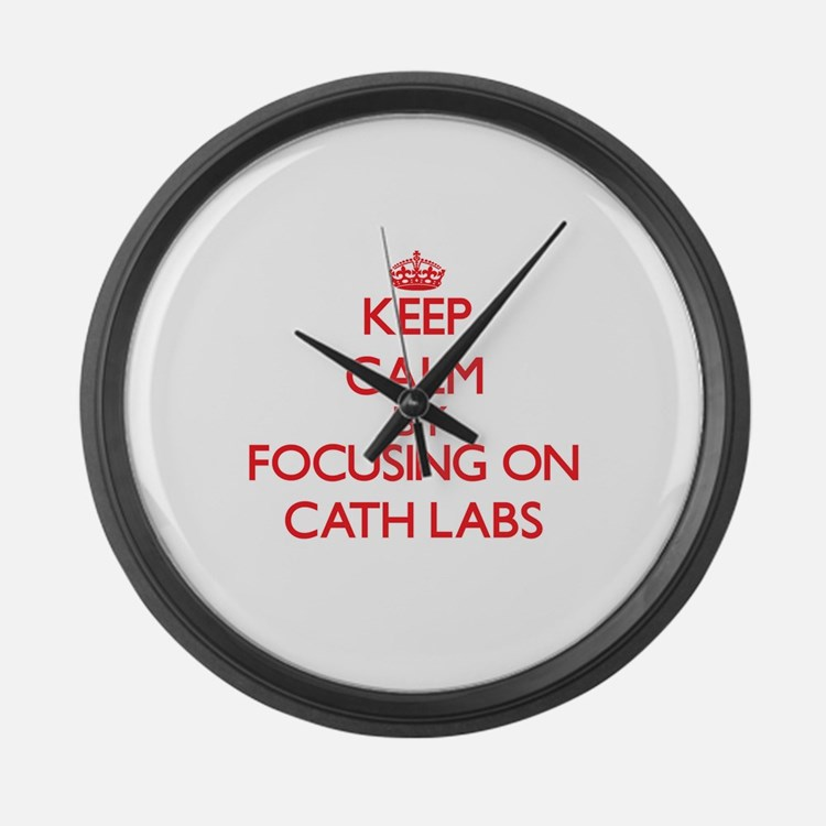 Cath Labs Large Wall Clock