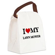 I love my Lawn Mower Canvas Lunch Bag