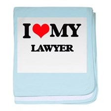 I love my Lawyer baby blanket