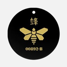 Golden Moth Chemical Ornament (Round)