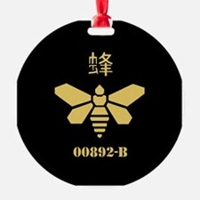 Golden Moth Chemical Ornament