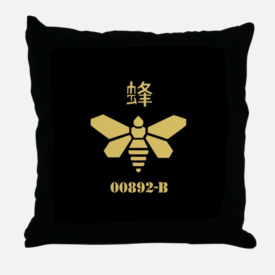 Golden Moth Chemical Throw Pillow