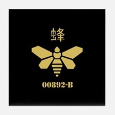 Golden Moth Chemical Tile Coaster