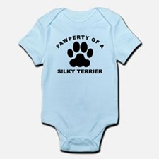 Pawperty Of A Silky Terrier Body Suit