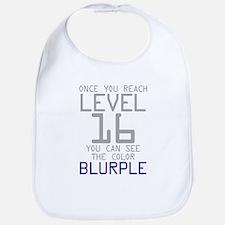 The Color Blurple Bib