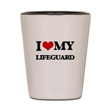 I love my Lifeguard Shot Glass
