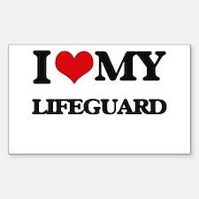 I love my Lifeguard Decal