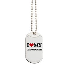 I love my Limnologist Dog Tags