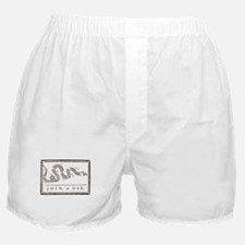 Join or Die Right Wing Extremist Boxer Shorts
