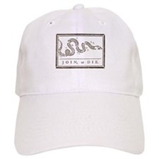 Join or Die Right Wing Extremist Baseball Baseball Cap