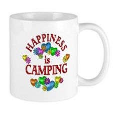 Happiness is Camping Mug