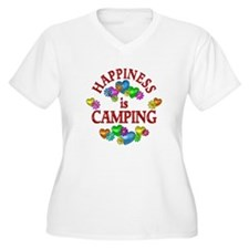 Happiness is Camp T-Shirt