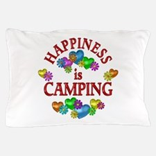 Happiness is Camping Pillow Case