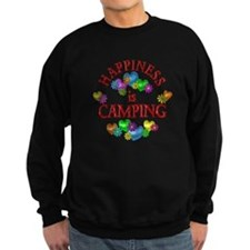Happiness is Camping Sweatshirt