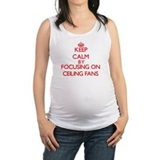 Ceiling Fans Maternity Tank Top