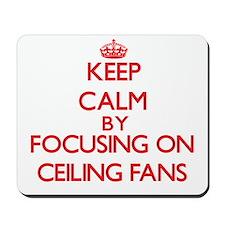 Ceiling Fans Mousepad
