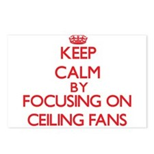 Ceiling Fans Postcards (Package of 8)
