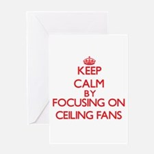 Ceiling Fans Greeting Cards