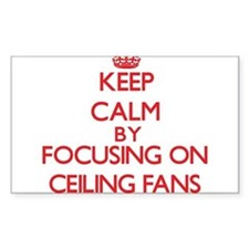 Ceiling Fans Decal