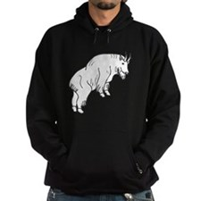 Mountain Goat Silhouette Hoodie