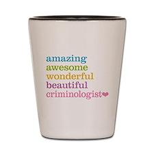 Criminologist Shot Glass